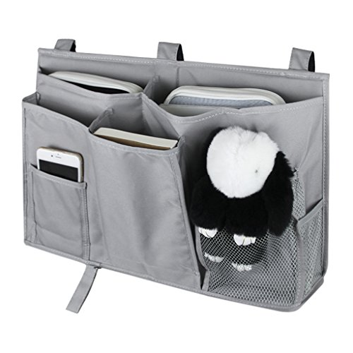 Betttasche Oxford Bettablage Bett Organizer Studenten Storage Bag Multifunktionale Hängende Aufbewahrungstasche für Bücher Handy Fernbedienung Spielzueg