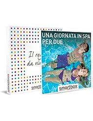 smartbox Una Giornata in Spa per Due, Cofanetto Regalo Donna, Uomo, Benessere, Standard