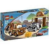 LEGO - 5814 - Jeux de construction - LEGO DUPLO cars - Martin et Sheriff