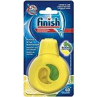 Finish Deodorante per Lavastoviglie Profumo di Limone, 1 Confezione