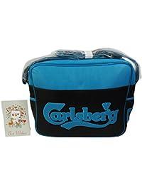 Carlsberg Classic Punch Bandolera al Hombro con Solapa Negro azul
