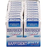 Happydent White Gum, Mint Flavour, 302.4 g (Pack of 18 Flip-Top Packs)