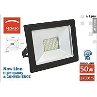 Faro LED Floodlight Pegaso de exterior IP65* * W * 000LM, luz natural 4000K