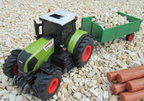 RC Auto kaufen Traktor Bild 2: RC Traktor CLAAS Hänger & Zubehör 36cm 1:28 Bulldog
