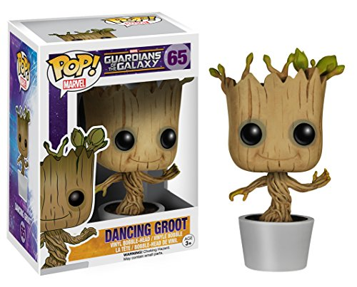 Funko Pop!- Bailando Figura de Vinilo Dancing Groot, colección Guardians of The Galaxy, Multicolor (5104) 2