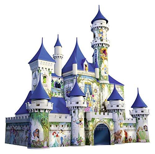 Puzzle 216 pz 3d disney castle