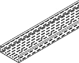 Niedax Kabelrinne RL 60.100 sendzimirverzinkt RL Kabelrinne