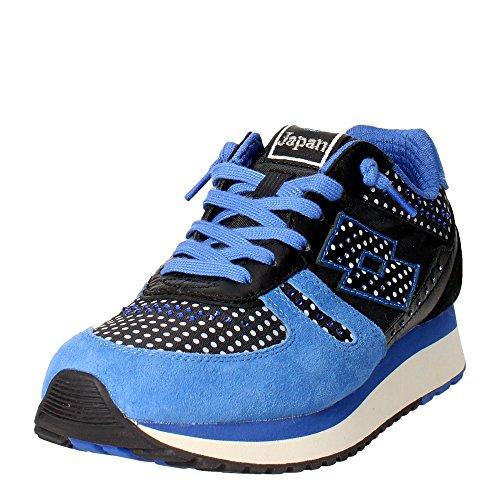 Lotto Leggenda S5862 Sneakers Femme Suède/nylon Bleu Bleu