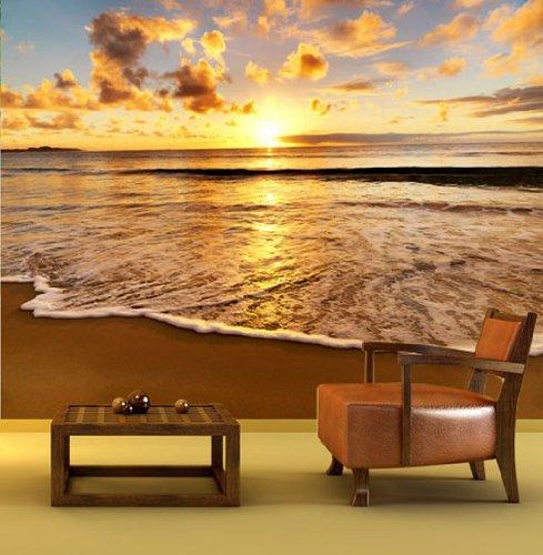 Foto Sfondo Murale Barriera corallina con pesce size: 400x270cm Decorazione della parete
