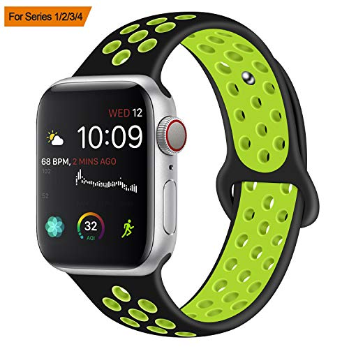 VODKER Compatibile con Apple Watch Cinturino 38mm 42mm, Cinturini Compatibile con Serie 4,3,2,1