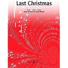 """Last Christmas"": (Piano/vocal/guitar Single)"