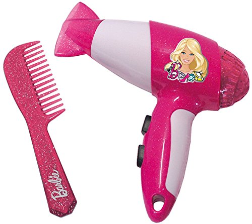 Theo Klein 5324 - Barbie Secador De Pelo Con Peine