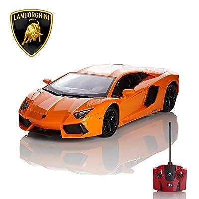 Ferngesteuertes Auto Lamborghini Aventador 1.24 orange Official von RC Toys