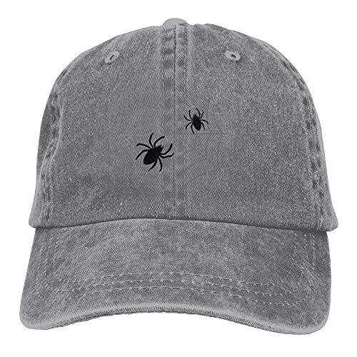 Sdltkhy Kreative Halloween Spinne Web Design Lässige Baumwolle Trucker Hüte Einstellbare Baseballmütze Für Outdoor Sport ()