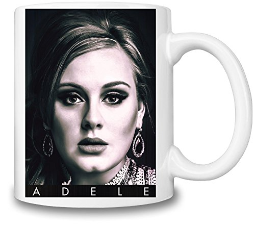 Adele Portrait Photo Famous Merchandise Mug Cup