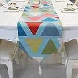 Mesa de centro moderna simple estilo nórdico mesa de comedor mesa de cama de la cubierta de la tortuga-G 33x180cm(13x71inch)