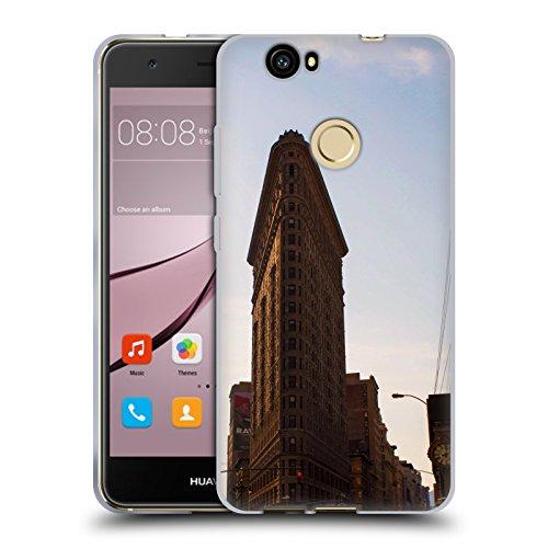 Flat Iron NY Orte 4 Soft Gel Hülle für Huawei Nova (Flat Iron Gel)