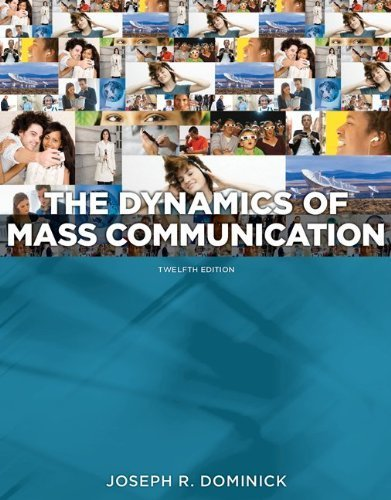 Dynamics of Mass Communication: Media in...