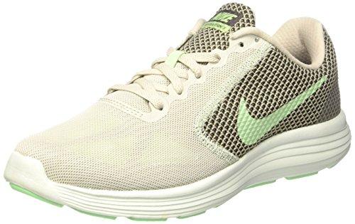 Nike 819303, Damen Sneakers, Mehrfarbig (Light Bone / Fresh Mint Midnight Fog), 39 EU
