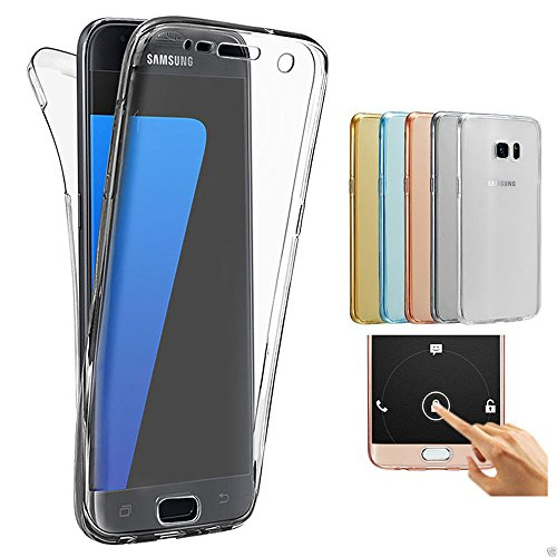 80494c8f4f3 Samsung Galaxy J7 2017 J730 Funda, 2ndSpring 360 Grados Doble Delantera +  Trasera De Gel