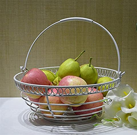 Fruit plate, camellia fruit plate, kitchen plastic creative vegetable bowl fashion fruit plate, snack plate, living room thick large fruit basin , squares [peach