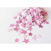 konfetti - Stern Konfetti - 18,5 g - rosa Farbe (handmade confetti)