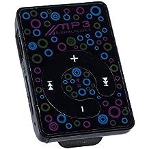 Reproductor de musica MP3 - TOOGOO(R)Reproductor de musica MP3 con mini clip y SD card apoya 3.5mm + auricular + USB cable (negro)