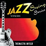 Thomastik-Infeld JS110 Jazz Swing Kit de cordes Flatwound pour guitare Calibre 10