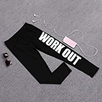 RoadRomao Dama para Mujer Entrenamiento Legging Yoga Gimnasio Fitness Deportes Pantalones de Entrenamiento Pantalones