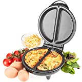 Best Omelette Makers - Savisto Electric Omelette Maker, 750 Watt Non-Stick Egg Review