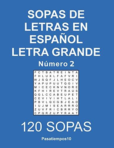 Sopas de letras en español Letra Grande - N. 2: Volume 2