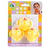 Mee Mee Bath Toys (Colors and Designs Ma...