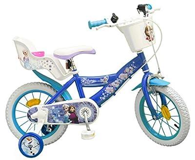 """TOIMS Kinder-Fahrrad, 16"""", Design: Die Eiskönigin"""
