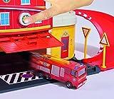 Dickie Toys 203099623 - Feuerwehrmann Sam Fire Rescue Centre, Rettungsstation, 48 x 26 x 23 cm Vergleich
