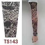 Junsi hochwertiges temporäres Tattoo, Ärmel, Old School-Stil, TS131, neue Farben