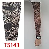 Junsi hohe Qualität Old School Style temporäre gefälschte Slip auf Tattoo Arm Ärmel TS131 neue Farben