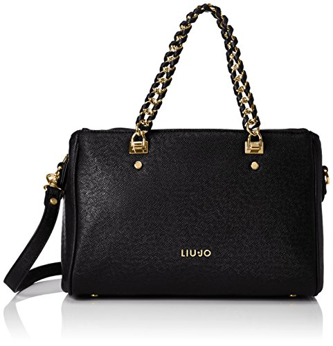 LIU JO ANNA BOSTON BAG A66003E0087-22222 Black