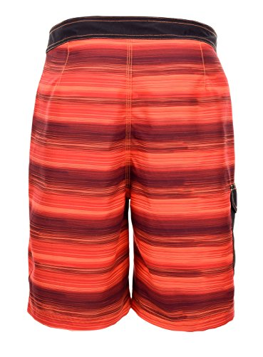aquawave Herren marsil Board Shorts Red Stripes