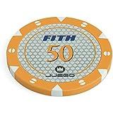 Juego - Tournament Chips Orange, 14 g (ITA Toys JU00121)