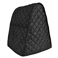 BALFER Stand Mixer Cover Dust-proof with Organizer Bag for Kitchenaid Mixer (Black)