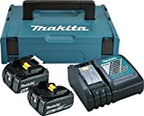 Makita 197624-2 Power Source Kit 18V 5 Ah, Schwarz