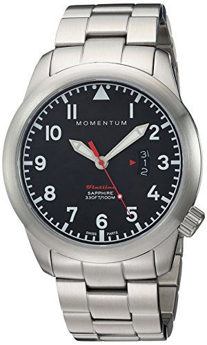 Momentum Unisex-Adult Analogue Classic Quartz Watch with Stainless Steel Strap 1M-SP18BS0