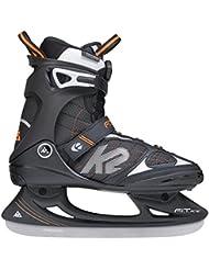 K2Fit Ice Boa Patins à glace pour homme Multicolore Noir/Orange