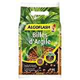 ALGOFLASH Billes d'Argile, Limite l'évaporation d'eau, 6 L, ATBILL6N
