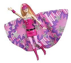 Barbie Princess Power Super Sparkle Doll, Multi Color