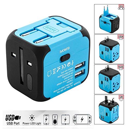Adattatore Universale da Viaggio e Caricabatterie USB