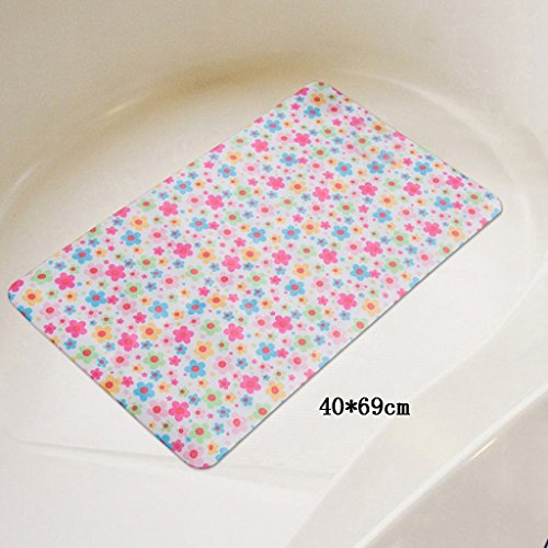 LYJ Tapis de bain Tissu Imperméable Dessin Animé Enfants Tapis De Bain / Non Slip Suction Bath Mat / Douche Toilette Tapis De Sol (Multicolore Facultatif) Séchage rapide ( Couleur : #3 )