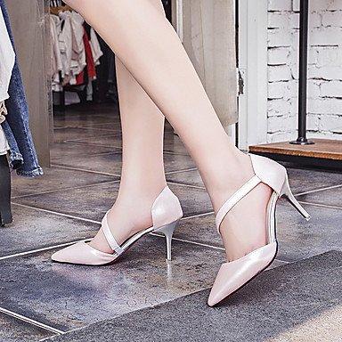 Moda Donna Sandali Sexy donna tacchi Primavera / Estate / Autunno tacchi / Punta abito di pelle / Casual Stiletto Heel Altri Black