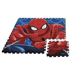Desconocido Kids Licensing-un Alfombra Espuma Spiderman AU Formato Puzzle, mv92392