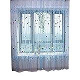 Morza Blue Balloon Finestra Pura Cortina di Tulle per Porte e finestre Tende Camera dei Bambini Camera da Letto Balcone Tende